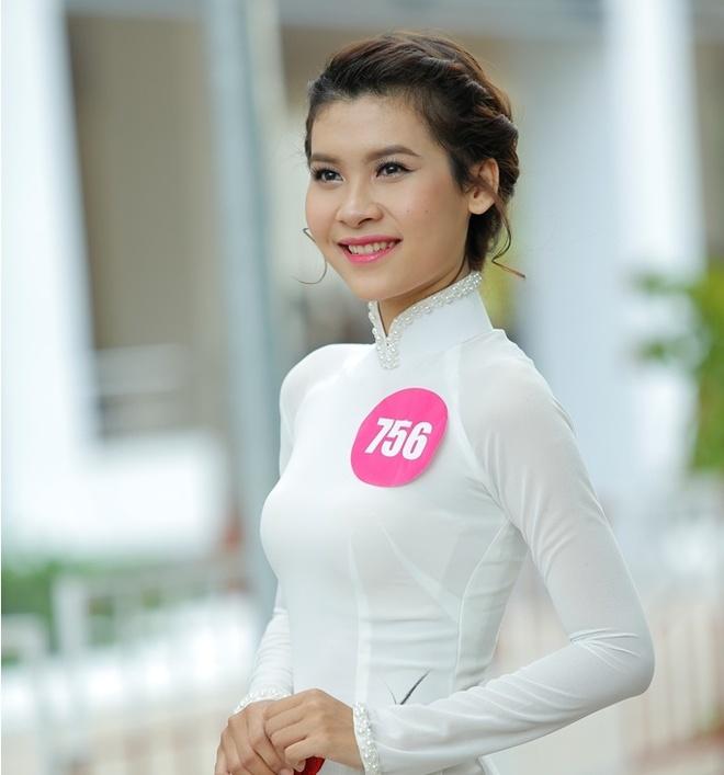 10 guong mat vao chung ket 'Nu sinh Viet Nam duyen dang' hinh anh 7