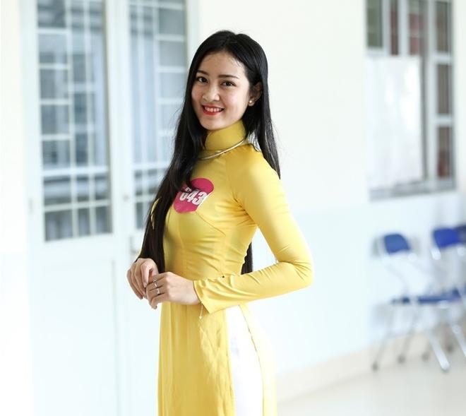 10 guong mat vao chung ket 'Nu sinh Viet Nam duyen dang' hinh anh 5