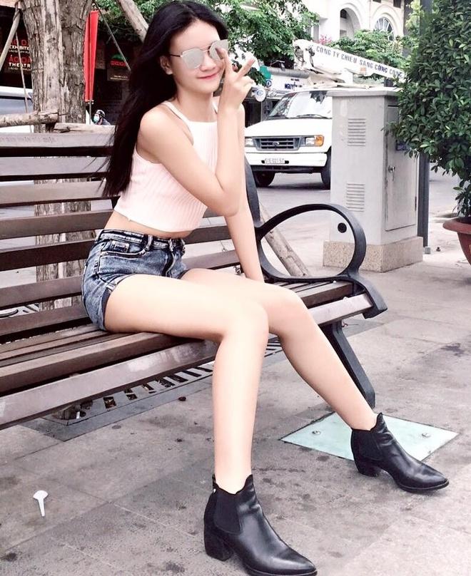 Nu sinh 15 tuoi tham gia cac show dien cua NTK Do Manh Cuong hinh anh 5