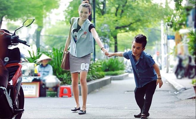 Hanh trinh yeu cua chu lun Xuan Tien va ban gai cao 1,78 m hinh anh 7