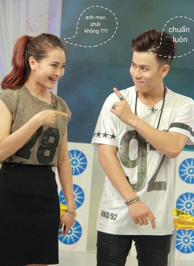 MC Mu Tat lam clip ke chuyen tinh yeu voi Tran Anh Huy hinh anh 5