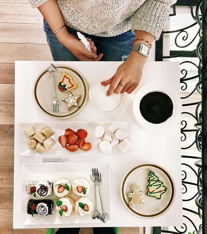 Co gai Food Reviewer noi tieng Ha Noi anh 7