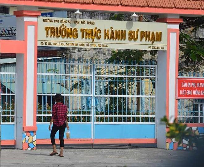 Benh con, nu can bo Tinh uy Soc Trang xo xat voi nguoi khac tai truong hinh anh 1