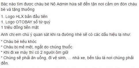 Treo thuong cho ai tim thay be trai 6 tuoi mat tich o Quang Binh hinh anh 4