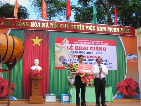 Quang Tri: Tuyen duong quan quan Olympia nam 2017 Nhat Minh hinh anh 1