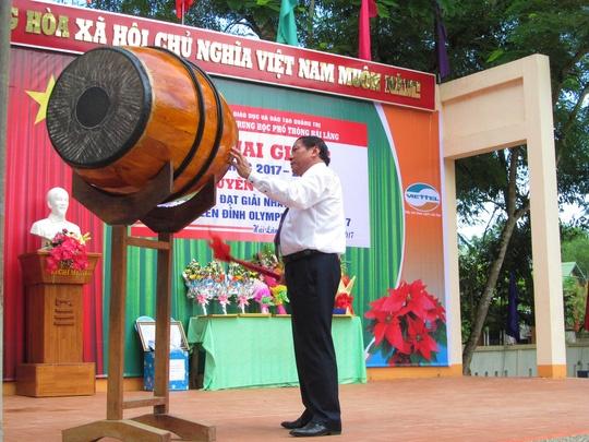Quang Tri: Tuyen duong quan quan Olympia nam 2017 Nhat Minh hinh anh 2