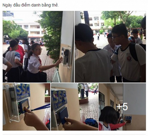 Doi sao do 'that nghiep' vi hoc sinh Sai Gon diem danh bang the hinh anh 1
