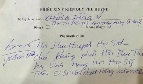 Nhieu nuoc khong co ban phu huynh, khong co phu phi dau nam hoc hinh anh 1