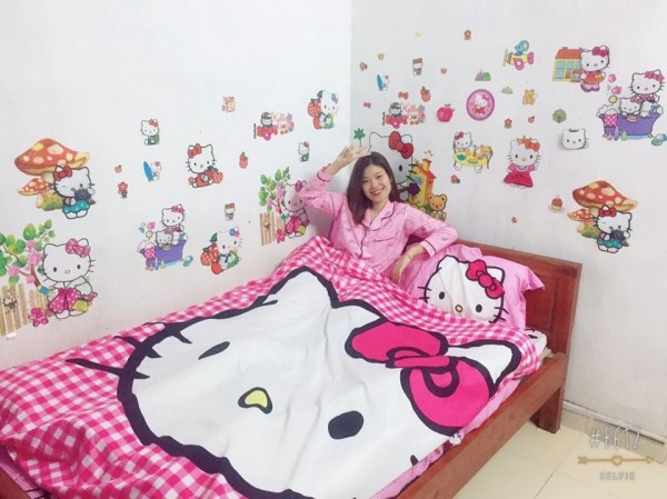 chang trai thich Hello Kitty anh 4