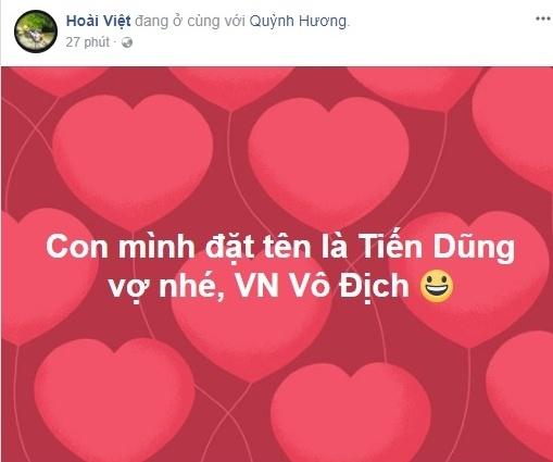 Bui Tien Dung chia se hinh anh dau tien sau tran ban ket: Viet Nam! hinh anh 3