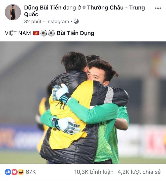 Bui Tien Dung chia se hinh anh dau tien sau tran ban ket: Viet Nam! hinh anh 1
