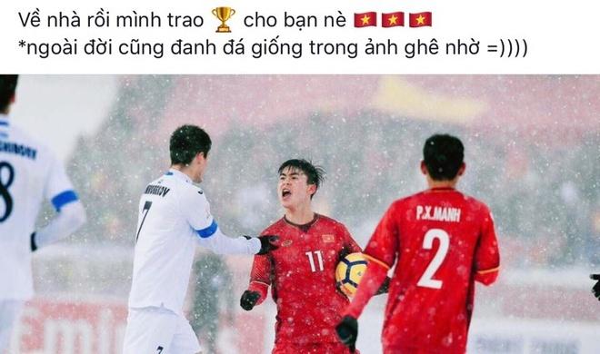 Ban gai Quang Hai, Duy Manh: Ve nha thoi cac chang trai hinh anh 1
