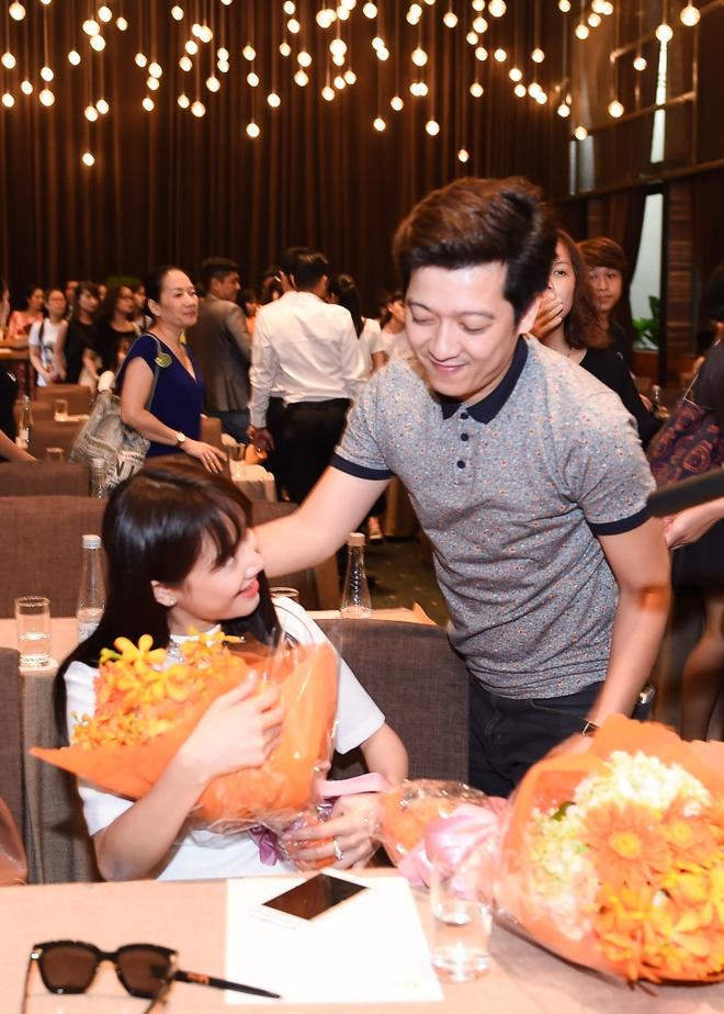 Nha Phuong nguong khi Truong Giang to tinh giua hop bao hinh anh 5