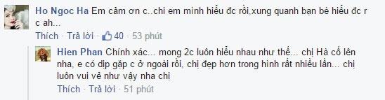 Phuong Thanh khang dinh khong tat Ho Ngoc Ha hinh anh 2