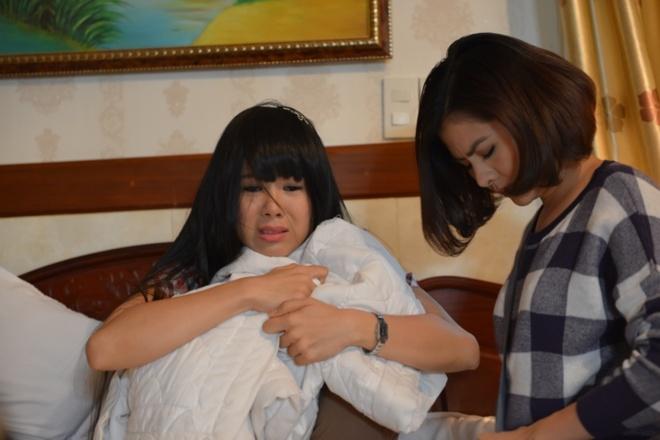 Le Phuong, Van Trang lam gai hu trong phim moi hinh anh
