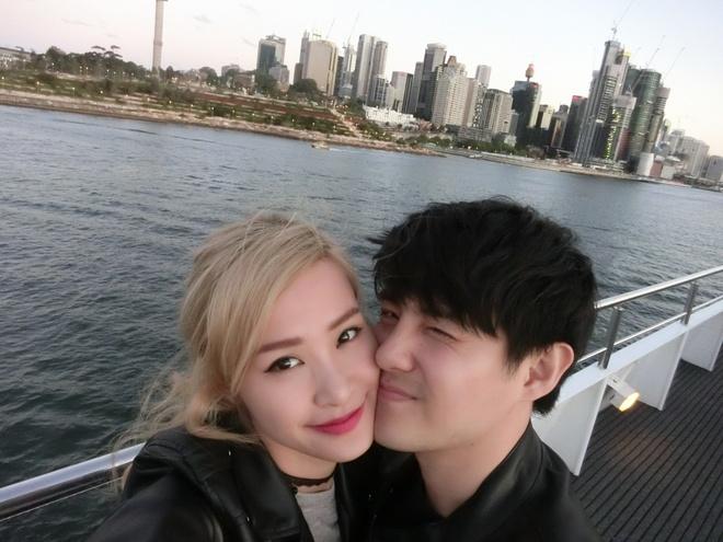 Dong Nhi - Ong Cao Thang tinh cam o Australia hinh anh