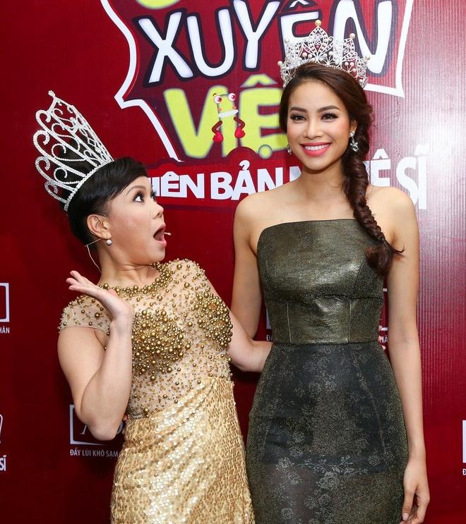 Hoa hau Pham Huong lam giam khao Cuoi xuyen Viet hinh anh 3