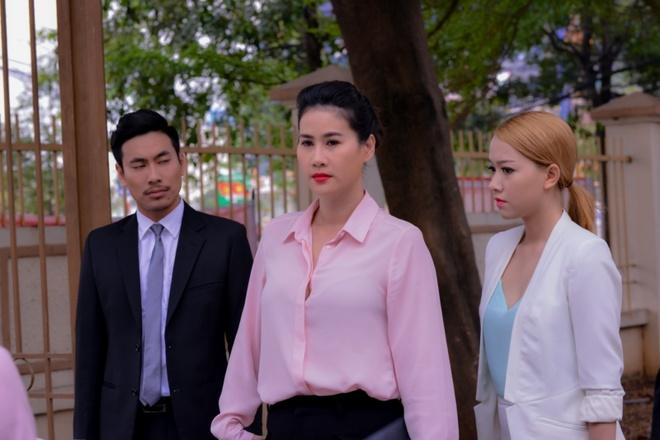 Tuong Vi lam on mac oan trong phim moi hinh anh 6