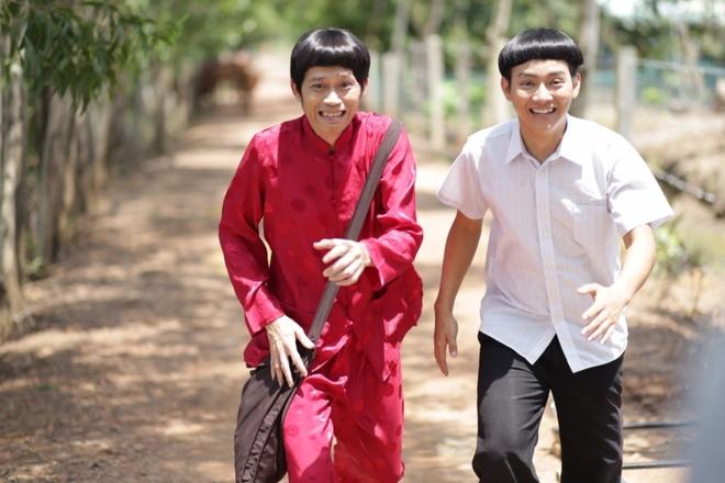 Hoai Lam khoe dau nam cung bo Hoai Linh hinh anh