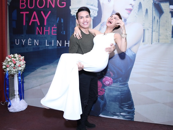 Quoc Thien: 'Khong so lep ve Uyen Linh' hinh anh 2