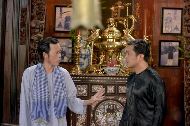 Hoai Linh lam soan gia ganh hat tren phim hinh anh 2