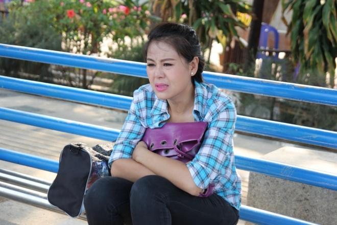 Phan Nhu Thao bat chap de yeu Quoc Truong trong phim moi hinh anh 4