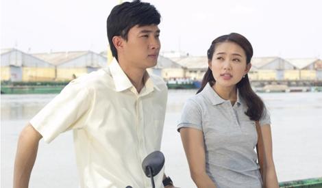 Phan Nhu Thao bat chap de yeu Quoc Truong trong phim moi hinh anh