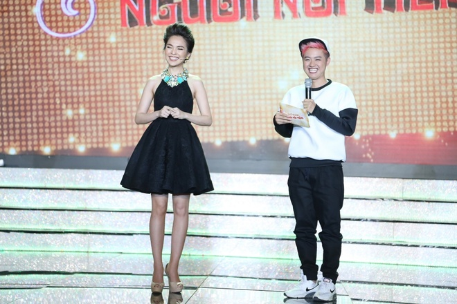 Tran Thanh va Viet Huong bien thanh trom trong game show hinh anh 8