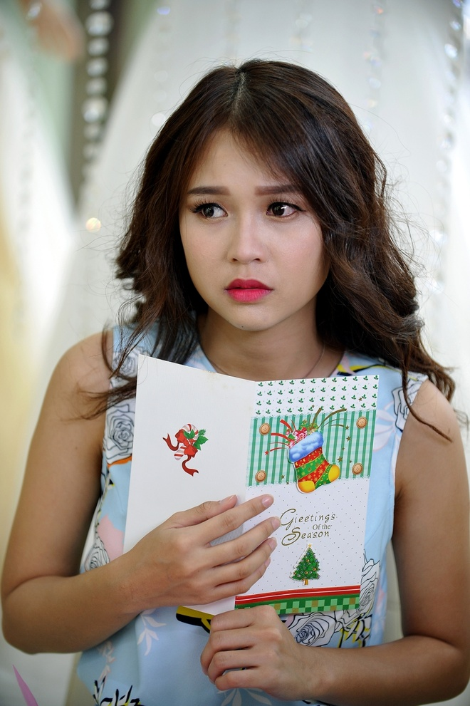 Hot girl Sam - Kelly cung yeu Harry Lu trong phim moi hinh anh 5
