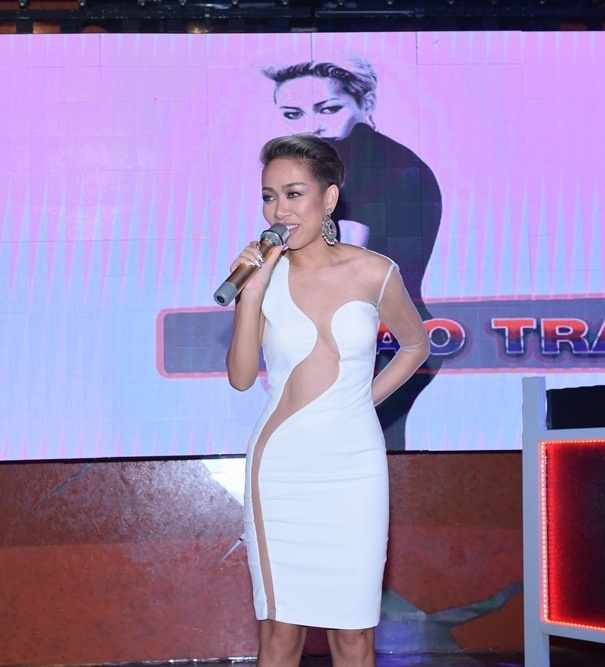 Thao Trang ngau hung hat cung Hoang Rapper hinh anh 1