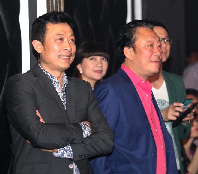 Truong Giang tinh nghich den chuc mung Van Son hinh anh 7