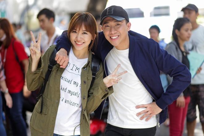 Tran Thanh - Hari Won tiep tuc ket hop trong phim moi hinh anh 1