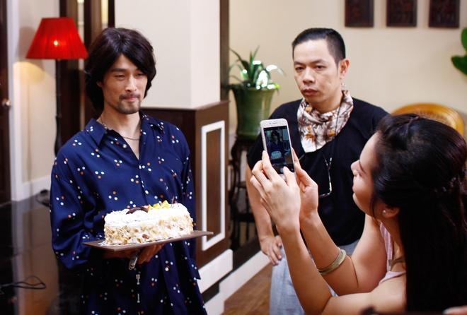 Nhung Kate mung sinh nhat Tri Nguyen tren phim truong hinh anh 6