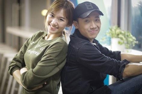 Tran Thanh thua nhan yeu Hari Won hinh anh