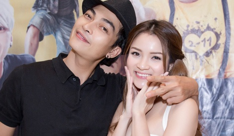 Thuy Top - Khuong Ngoc ban quang ba phim can Tet hinh anh