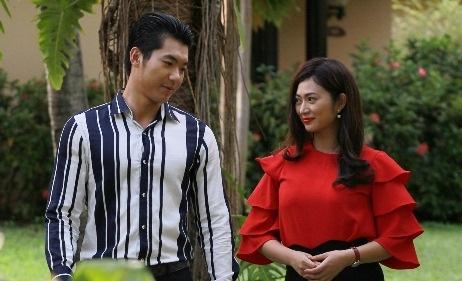 Truong Nam Thanh kho vi lay vo hoa hau trong phim hinh anh