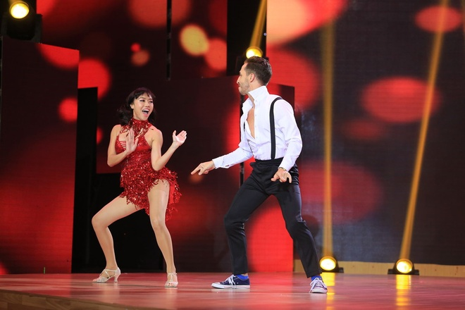 Lam Chi Khanh ke ve cuoc doi trong chuong trinh Vip dance hinh anh 1