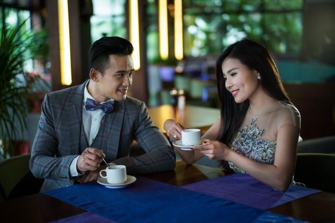 Luong The Thanh, Thuy Diem hanh phuc trong ngay Tinh nhan hinh anh 4