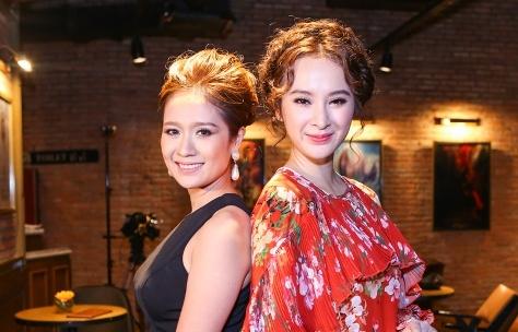 Thanh Thuy do sac voi Angela Phuong Trinh trong su kien hinh anh