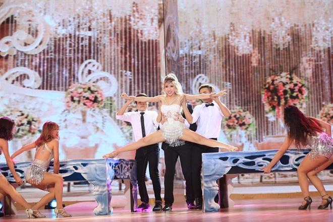 Trang Phap dung thi Vip Dance vi stress nang hinh anh 1