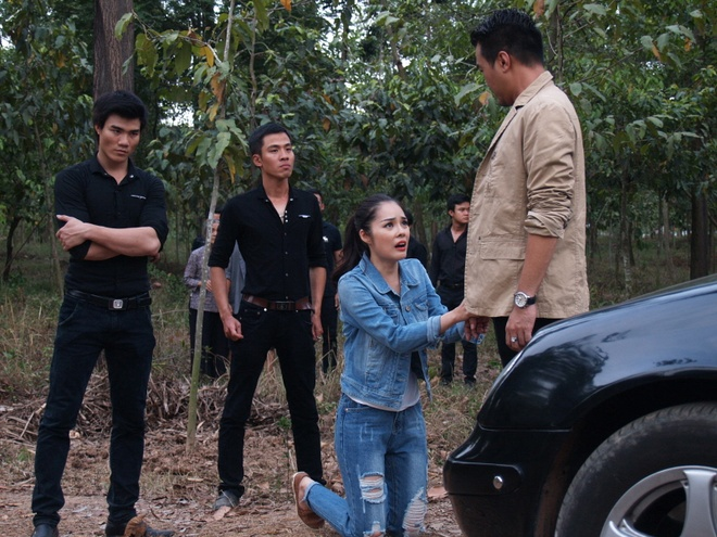 Cam Lynh khoc het nuoc mat vi Luong The Thanh trong phim hinh anh 2