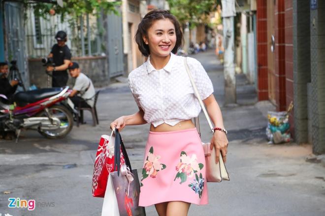 Luong The Thanh - Thuy Diem hon nhau ngot ngao hinh anh 19