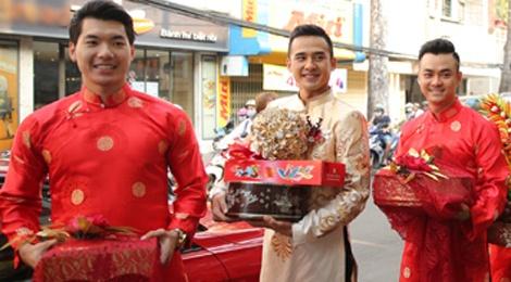 Sao Viet den chuc phuc Luong The Thanh va Thuy Diem hinh anh