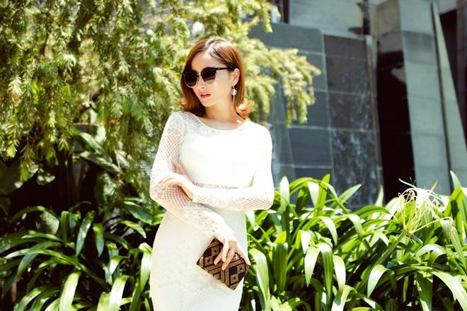 Lan Phuong bien hoa voi street style sang trong hinh anh 5