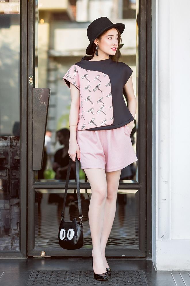 Street style ngay cang sanh dieu cua Nha Phuong hinh anh 5