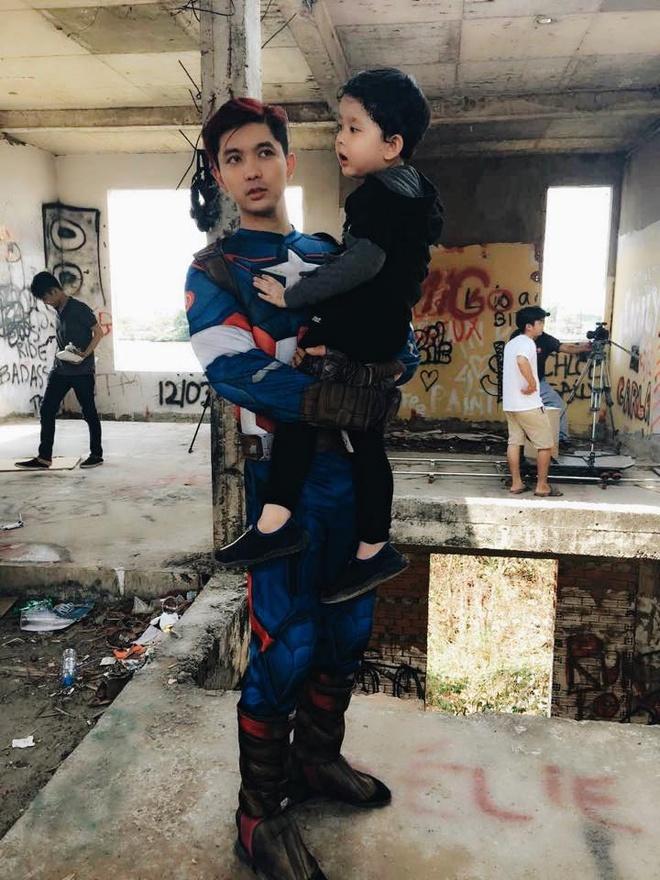 Tim dong vai Captain America de chieu con trai hinh anh 1