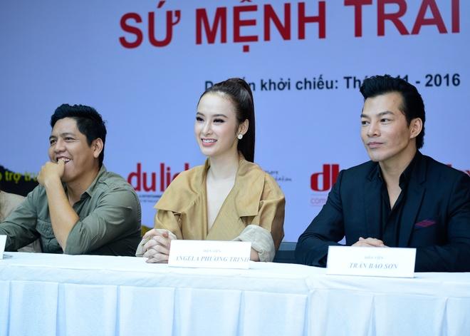 Angela Phuong Trinh dien do ruom ra ra mat phim moi hinh anh 6