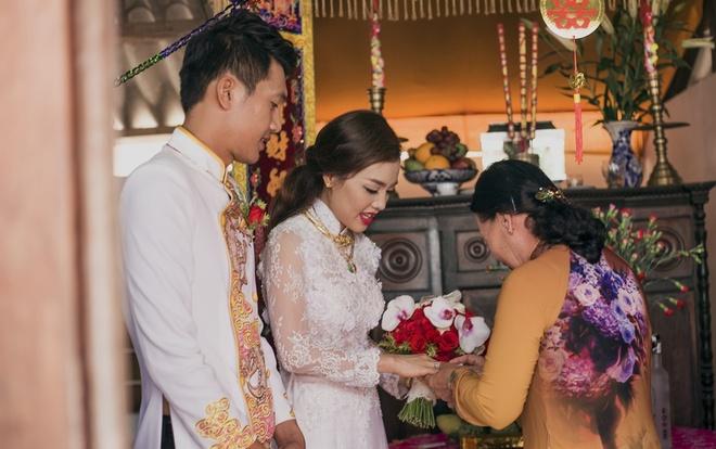Dam cuoi Quang Tuan va Linh Phi anh 2