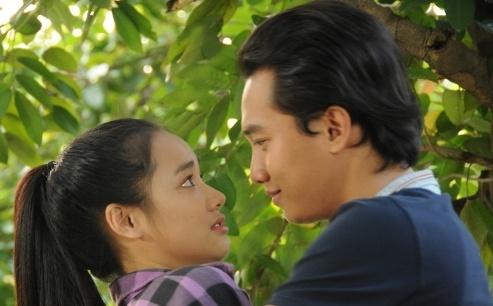 Nha Phuong lan dau ket hop Quoc Truong tren man anh hinh anh
