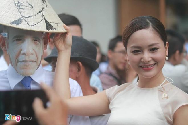 Lan Phuong mang qua dac biet tang Tong thong Obama hinh anh 5